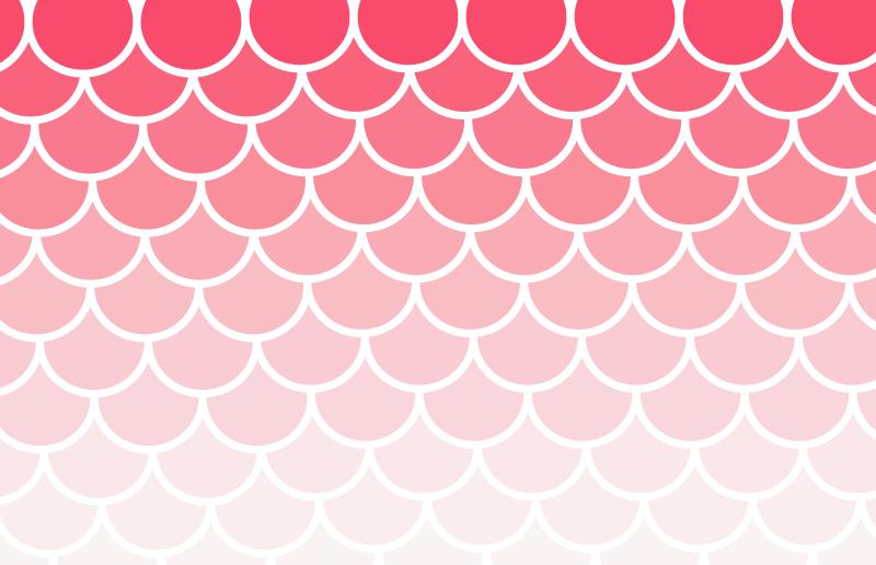 Free Scallop Pattern Fade