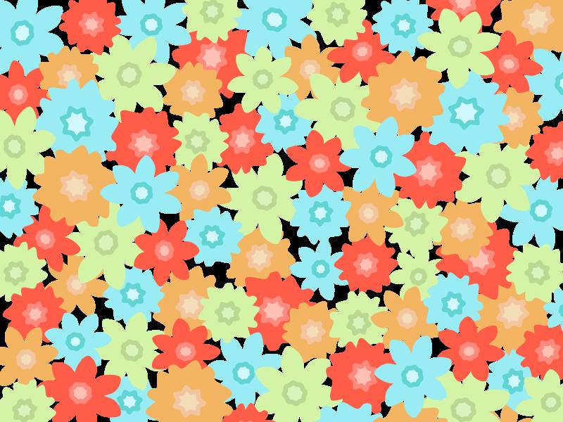 Free Flowers Pattern