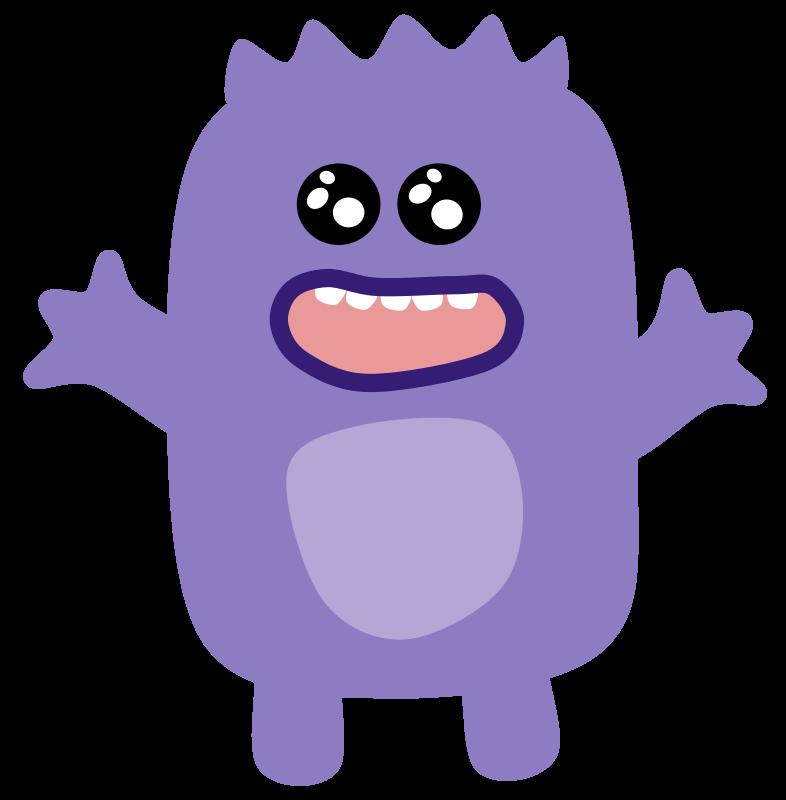 Free Purple Monster
