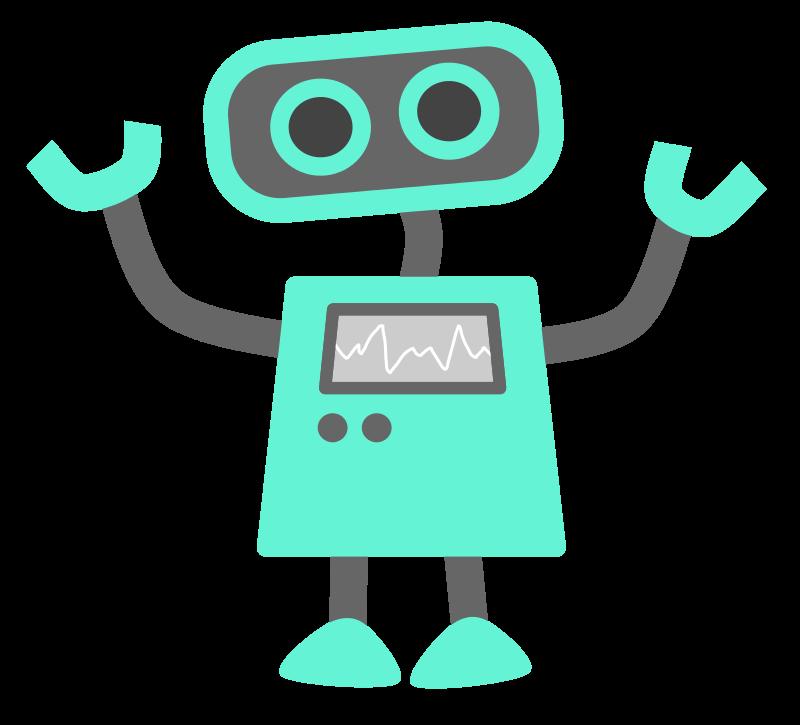 Free Blue Robot