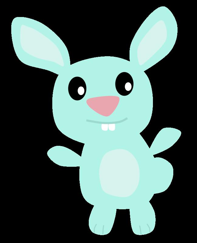 Free Blue Bunny