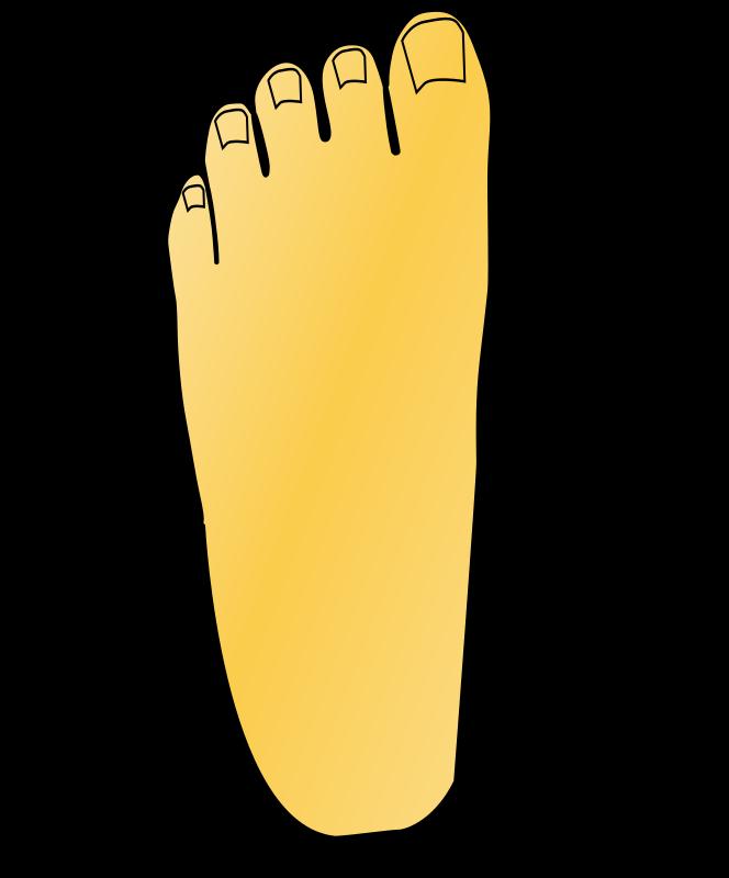 Free foot left