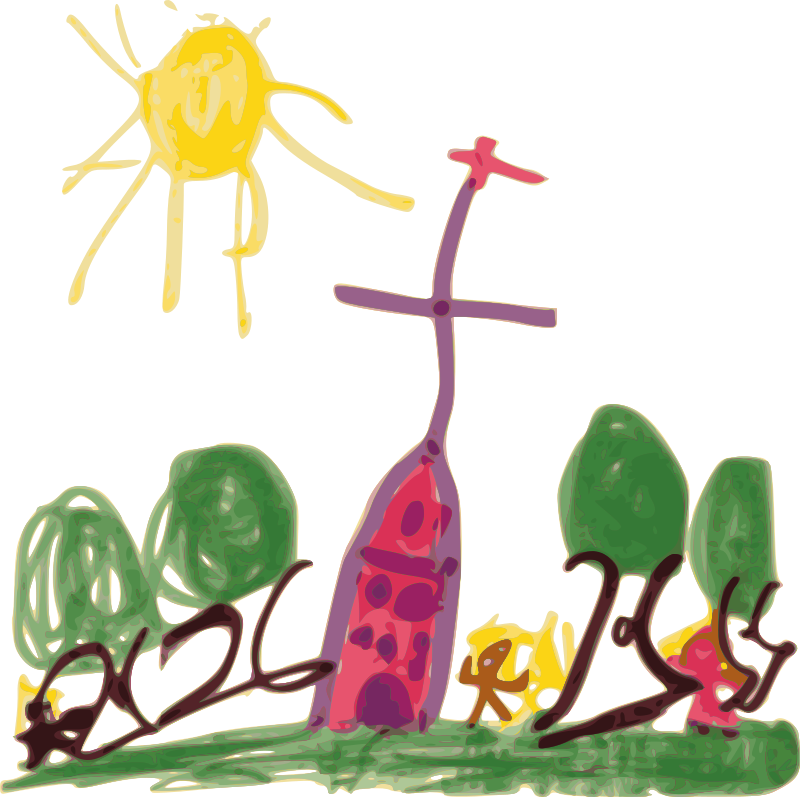 Free Kindergarten Art Church