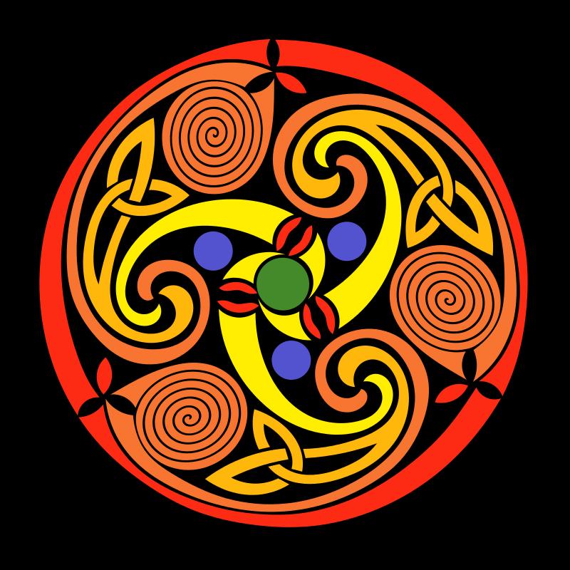 Free Celtic Spiral
