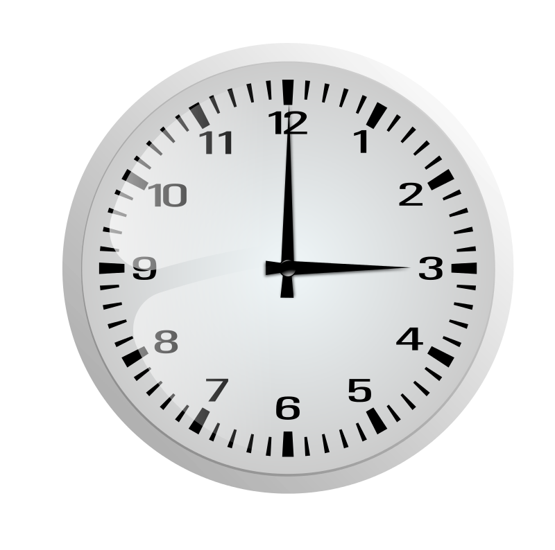 Free Clock without frame