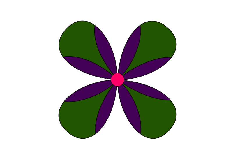 Free Purple & Green Flower