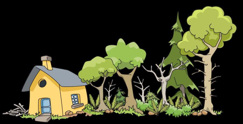 Free Maison dans le bois - House in woods