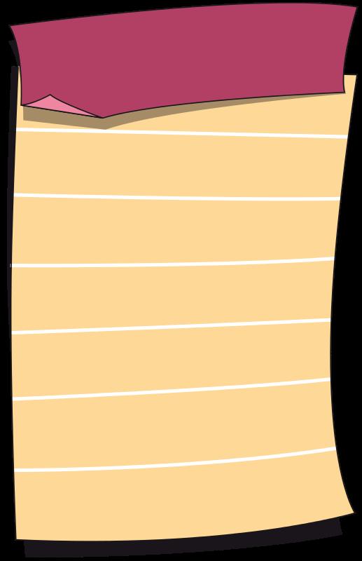 Free Feuille de carnet - sheet book