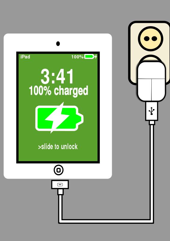 Free charging ipad