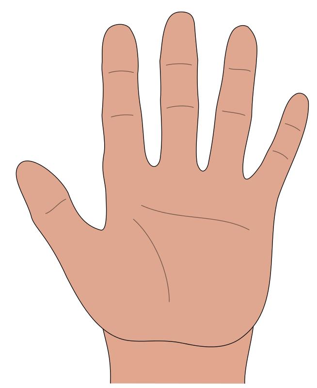 Free Hand open