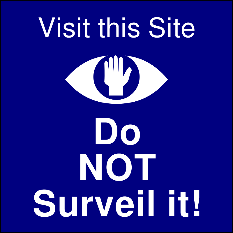 Free Do Not Surveil this Site