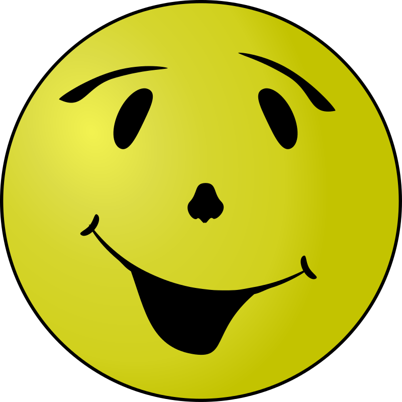 Free Clipart: Happy Grin | Arvin61r58