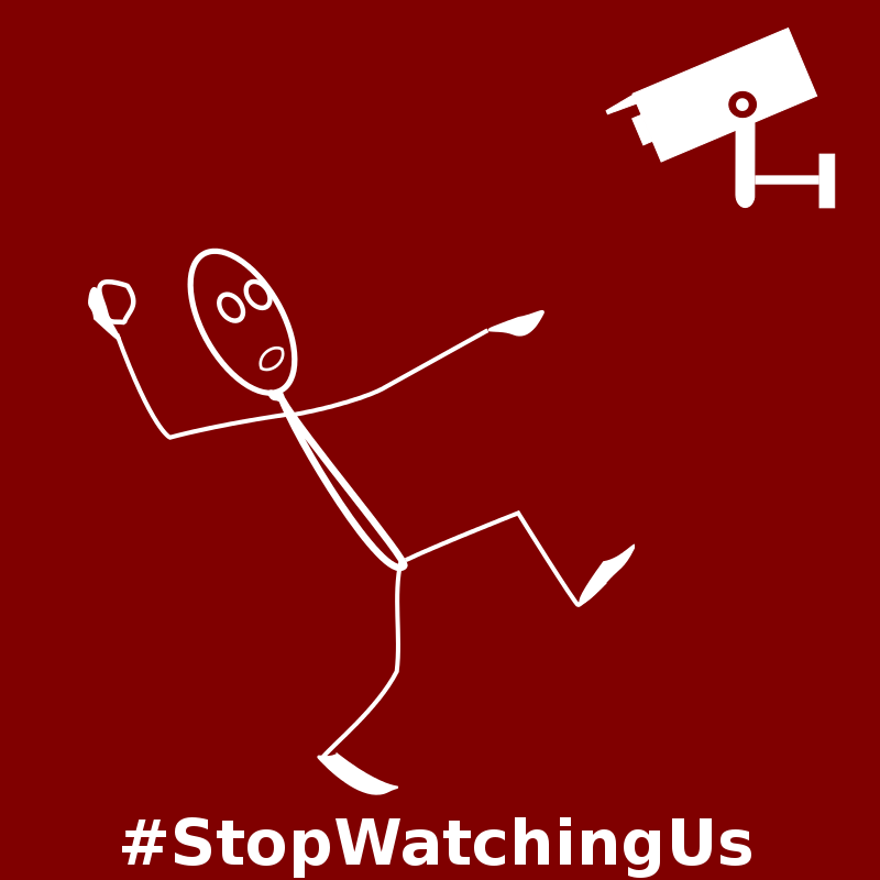 Free NSA Stop Watching Us