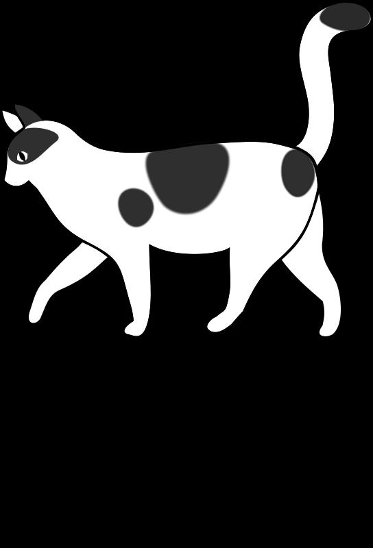 Free Clipart: Letra G de Gato para colorear | migranerp
