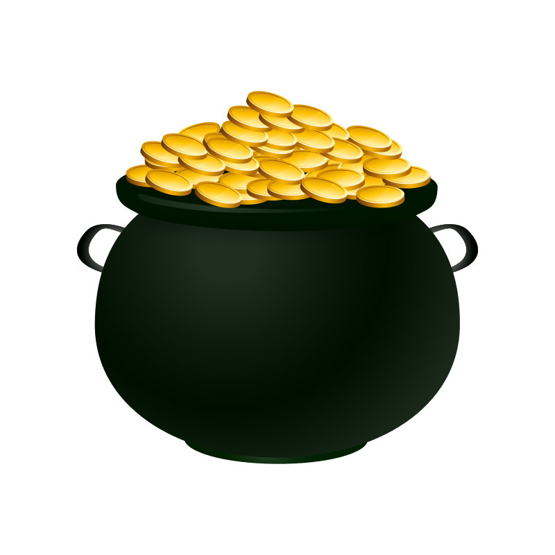 free clipart pot of gold casino pot of gold clipart drawing pot of gold clipart coloring sheet