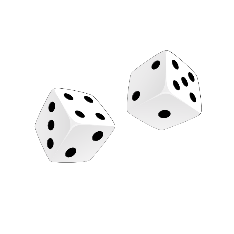 Free Clipart: Dice | casino