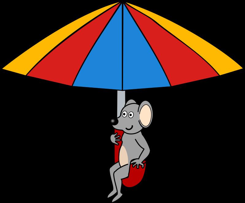 Free Mouse on umbrella