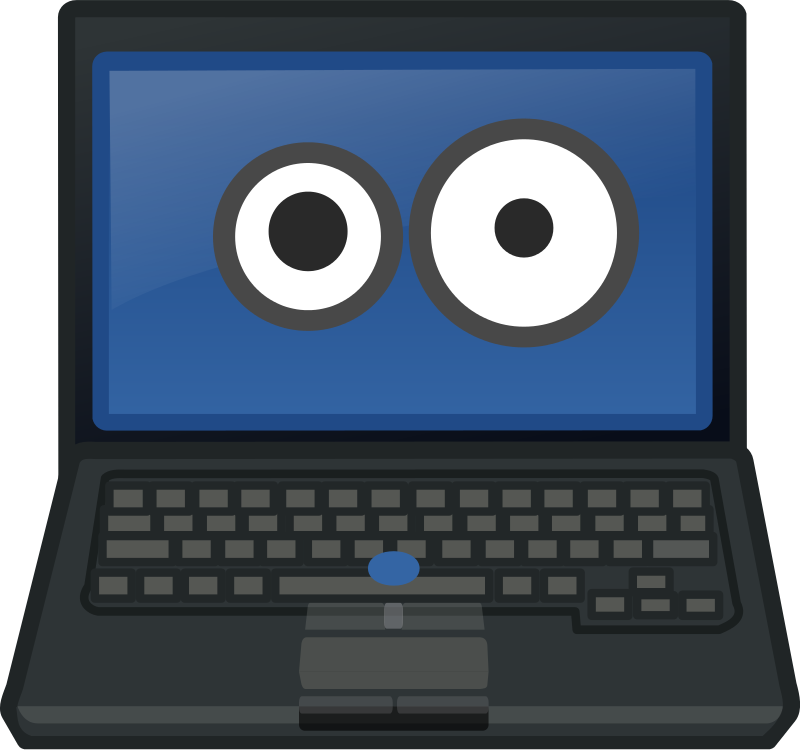 Free Laptop Eye Contact