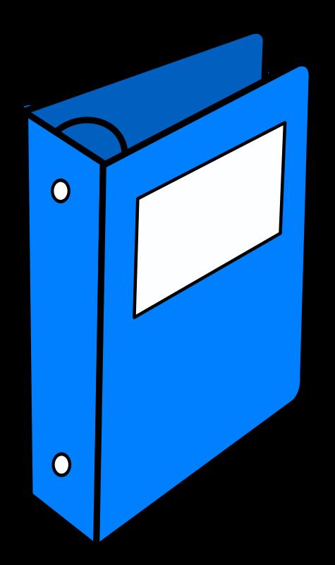 Free Blue binder