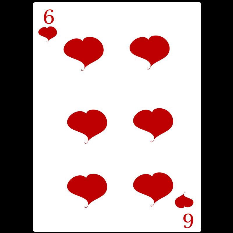 Free 6 of Hearts