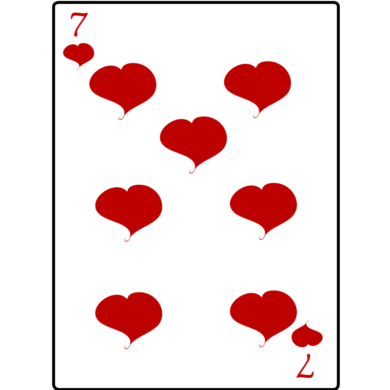 Free 7 of Hearts