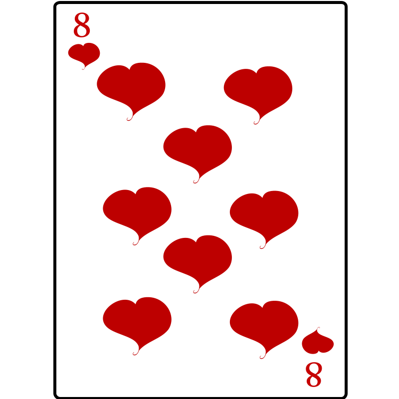 Free 8 of Hearts