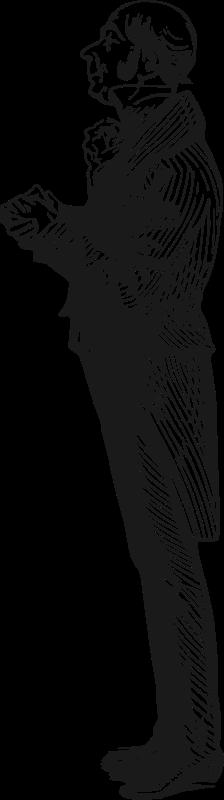 Free Clipart: Ingratiating man | velveteen