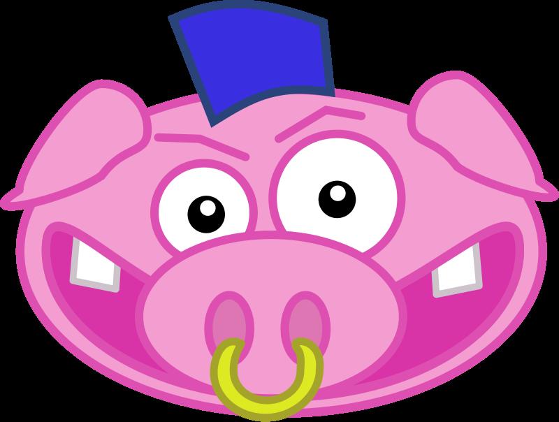 Free Punk pig