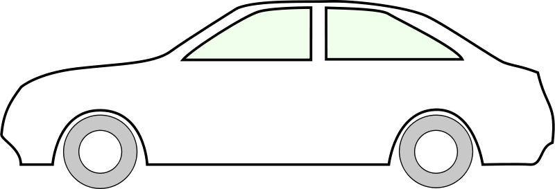 Free Clipart: Simple Side Of Car