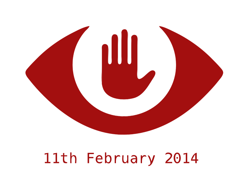Free Clipart: We're Fighting Back Against Mass Surveillance - Red | rsiddharth