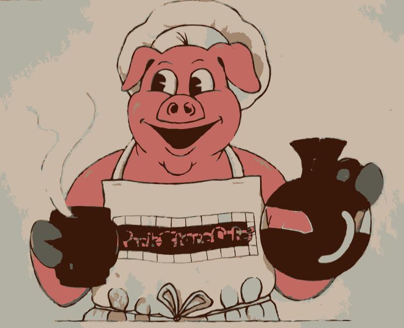 Free Eating Breakfast like Pig 1