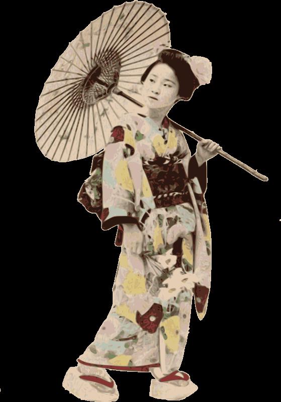 Free Stereotypical Kimono Lady