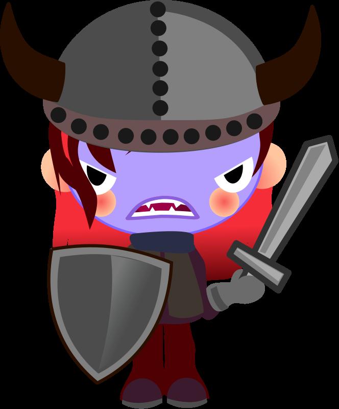 Free Clipart: Vampire Viking | qubodup