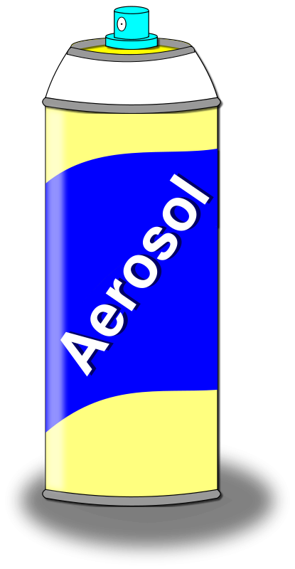 Free Aerosol Spray Can