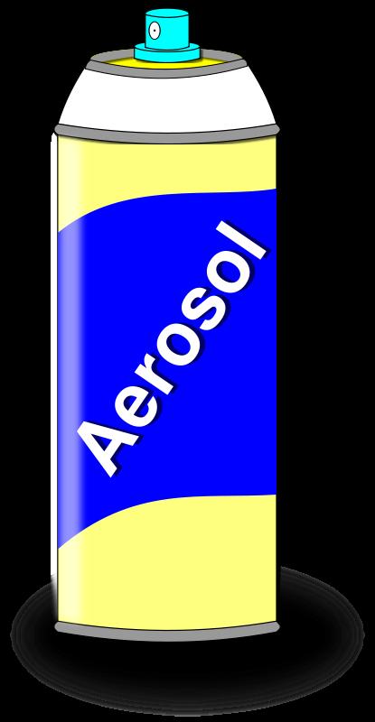 Free Aerosol Spray Can