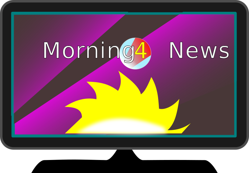 Free Clipart TV Morning News