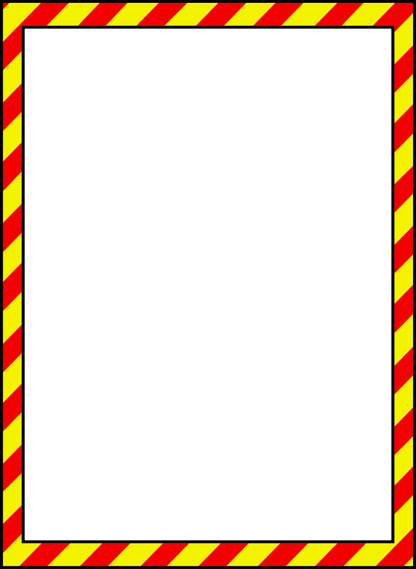 Free Caution Border 1