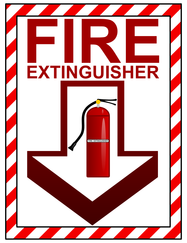 free clipart fire extinguisher sign arvin61r58 rh 1001freedownloads com fire extinguisher pictures clip art
