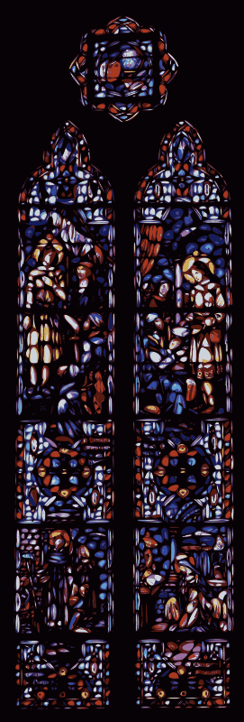 Free Stained Glass Window