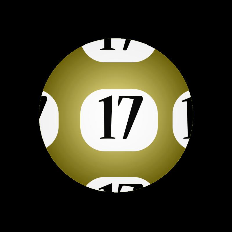 Free #17 Lotto Ball