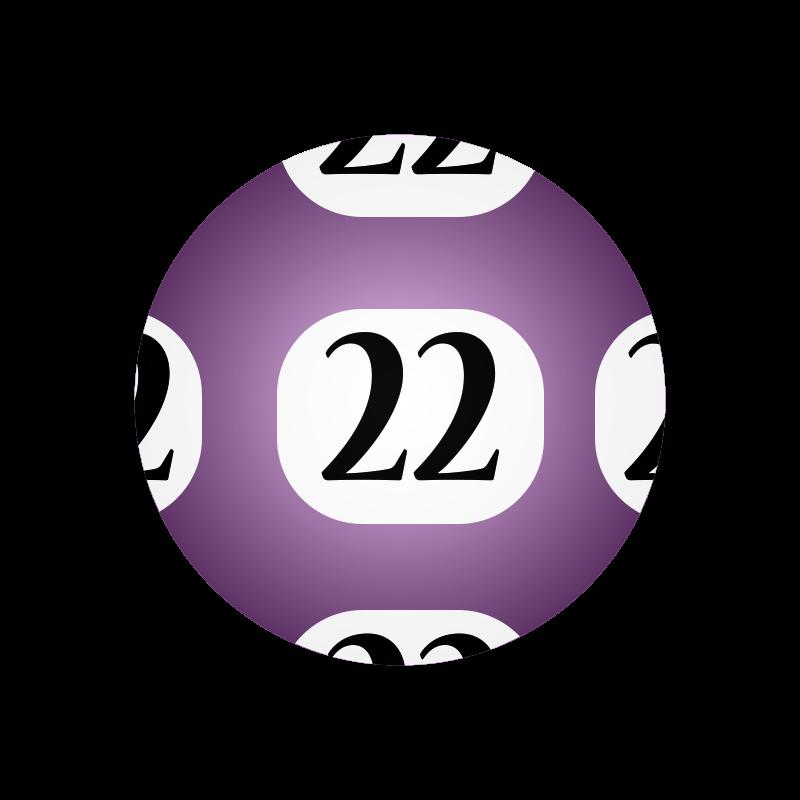 Free #22 Lotto Ball