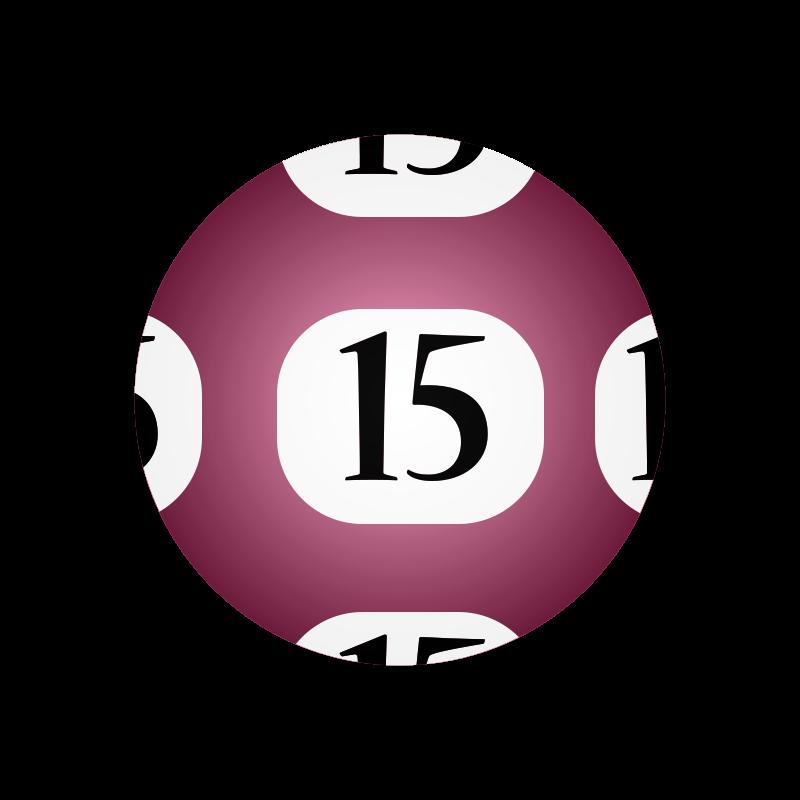 Free #15 Lotto Ball