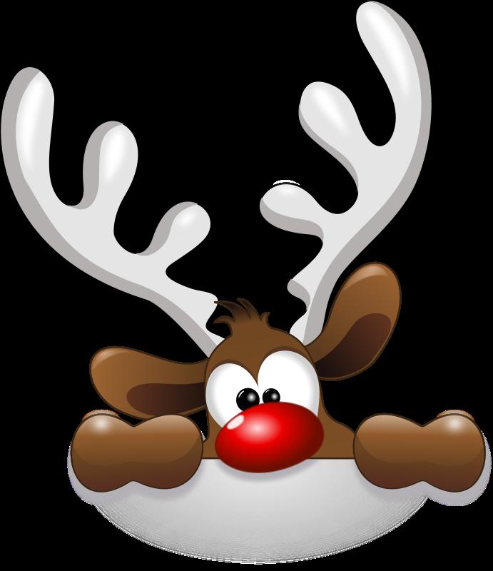Free Funny Reindeer