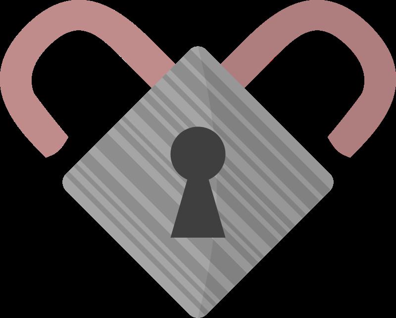 Free Lock heart