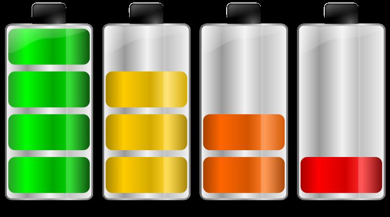 Free Battery levels. Niveles de carga de batería
