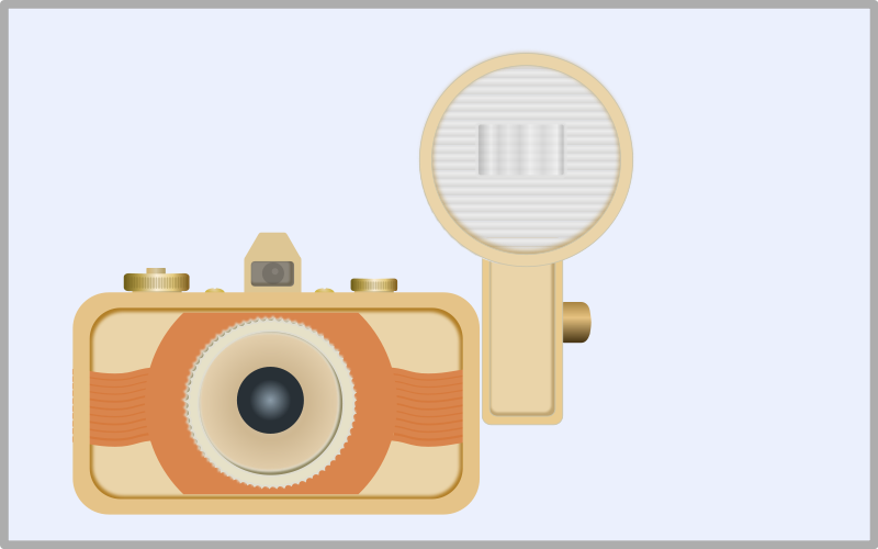 Free Clipart: Vintage camera | Ulrike