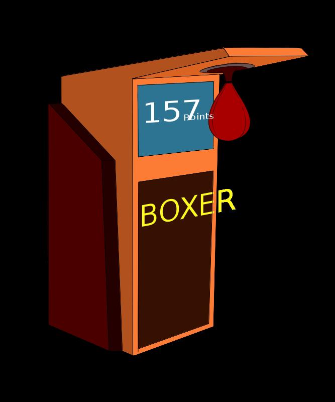 Free Boxing Arcade Machine
