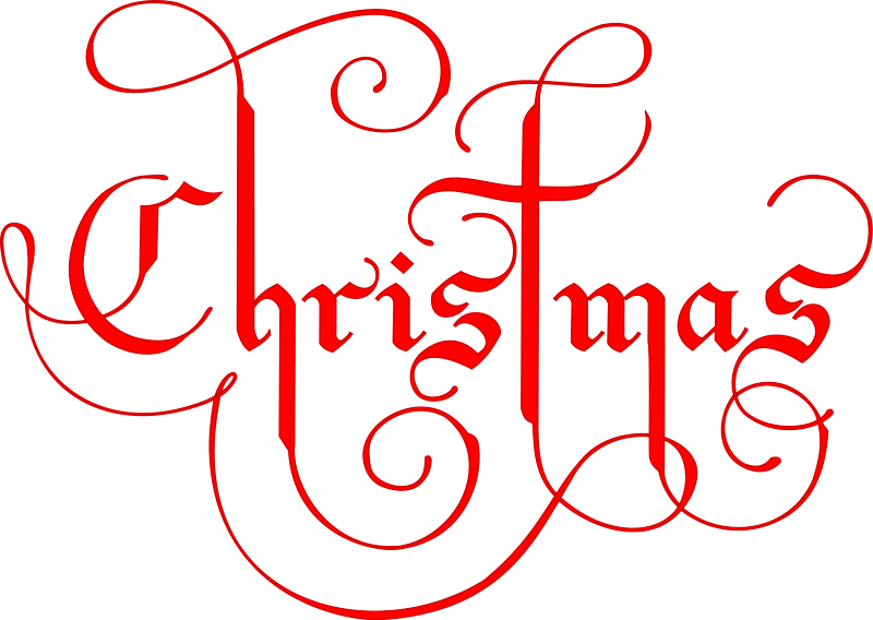 How to write merry christmas in russian cursive