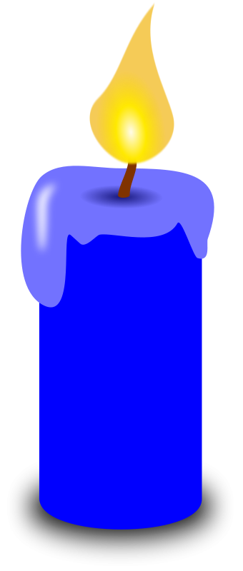 Free Blue Candle
