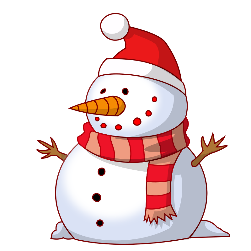 Free Clipart: Snowman | isacvale